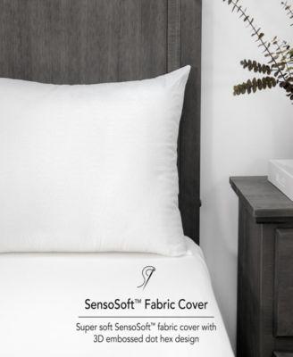 Embossed SensoSoft Jumbo Bed Pillow - 4 Pack