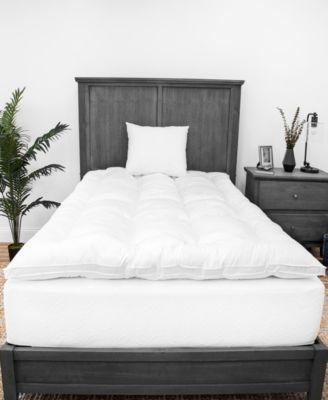 2-Inch Down Alternative Mattress Topper and Two Pillows Bundle - Queen