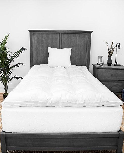 SensorPEDIC 2-Inch Down Alternative Mattress Topper and Two Pillows Bundle - King