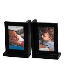 Picture Frame Bookend in Solid Wood