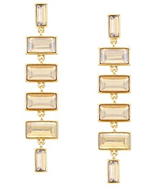 Gold-Tone Linear Earrings