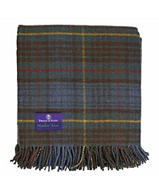 Tartan Tweed Fluffy Throw