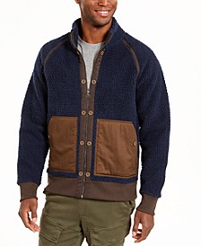Men's Colorblocked Fleece Jacket, Created For Macy's