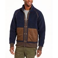 Deals on American Rag Mens Colorblocked Fleece Jacket