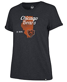 Women's Chicago Bears State Love T-Shirt
