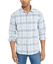 Men's Del Coast Plaid Corduroy Shirt