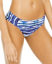 Serene Stripe Hipster Bikini Bottoms