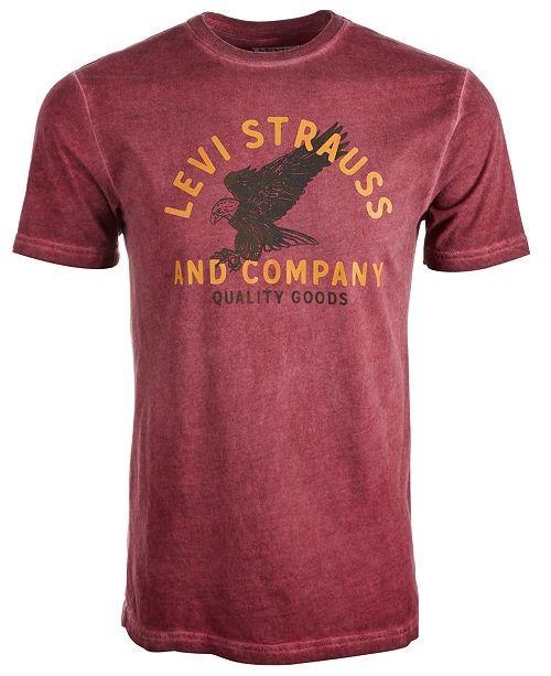 Levi's Men's Haxel Logo Graphic T-Shirt