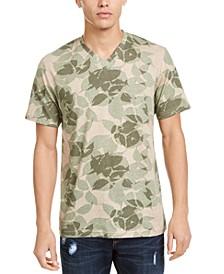 Men's Tonal Floral T-Shirt