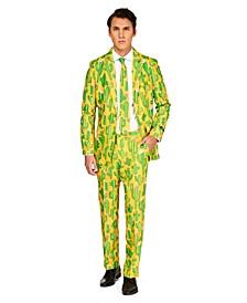Men's Sunny Yellow Cactus Plant Suit