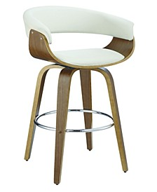Prichard Upholstered Swivel Bar Stool