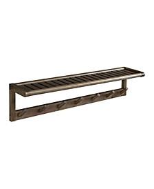 Abingdon Large Peg Rack with Shelf