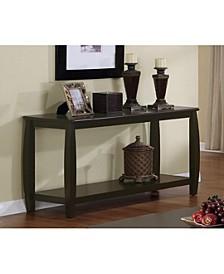 Darien Sofa Table with Shelf