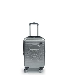 "Star Wars Storm Trooper Embossed 21"" Spinner Suitcase"