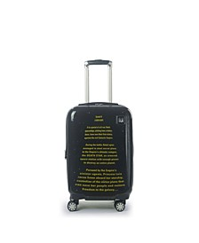 "Star Wars A New Hope Opening Crawl Printed 21"" Luggage Spinner"