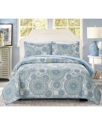 Casual Living Starburst 3 Piece Quilt Set, King