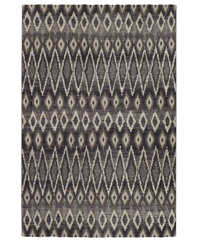 Couristan Area Rug, Taylor Mirador Grey 5'3