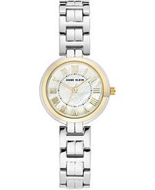 Women's Silver-Tone Bracelet Watch 28mm