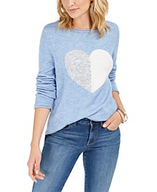 Heart Sweater, Created For Macy's