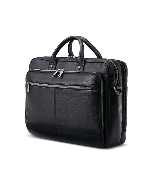 Samsonite Classic Leather Toploader