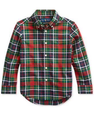 Ralph Lauren Little Boys Plaid Shirt