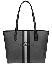 COACH City Zip Tote With Horse And Carriage