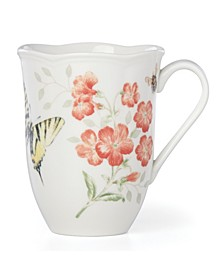 Butterfly Meadow Red Tiger Swallowtail Mug, Created for Macy's