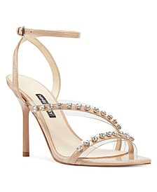 Ismene Vinyl Evening Sandals