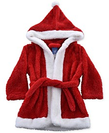 Baby & Toddler Boys & Girls Hooded Plush Santa Robe, Created For Macy's
