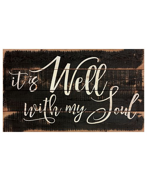 P Graham Dunn It Is Well With My Soul Wall Art