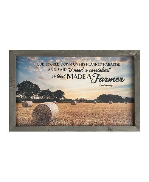 P Graham Dunn So God Made A Farmer Wall Art