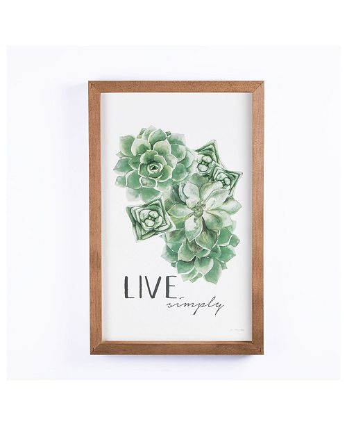P Graham Dunn Live Simply Wall Art