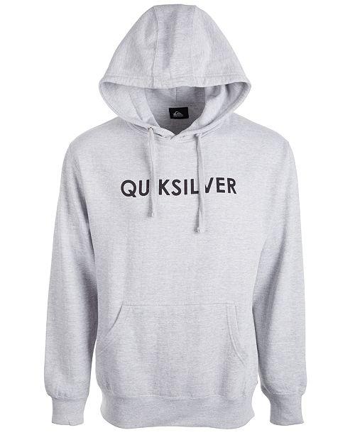Quiksilver Men's Wordmark Logo Hoodie