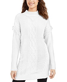 Juniors' Tunic Sweater, Created For Macy's
