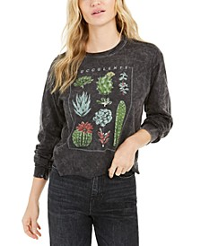 Succulent Long-Sleeve Graphic T-Shirt
