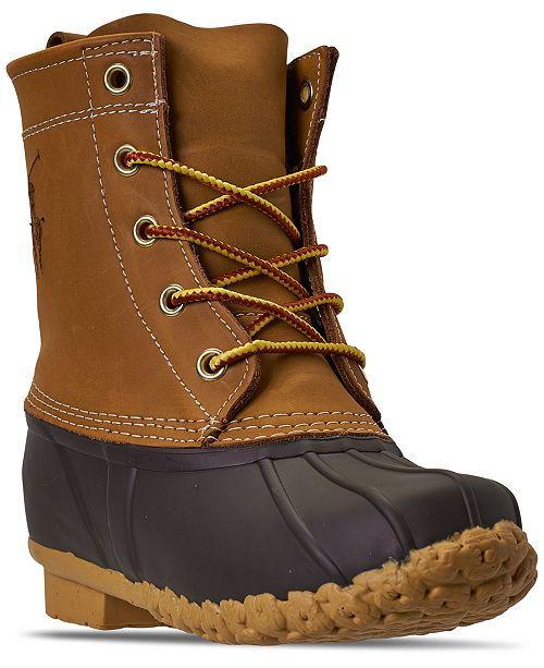Polo Ralph Lauren Big Boys Ewan Duck Boots from Finish Line