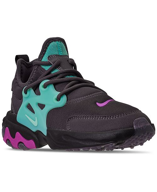 Nike Girls React Presto Running Sneakers from Finish Line