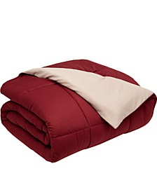 King Reversible Down-Alternative Comforter
