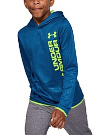 Boys' Armour Fleece® Embossed Hoodie