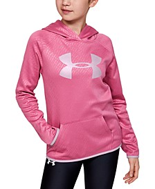Big Girls Embossed Fleece Hoodie
