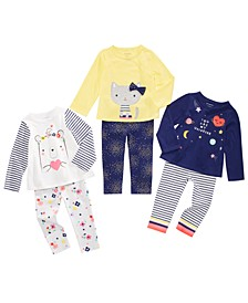Baby Girls Rainbow Universe Mix & Match Separates, Created For Macy's