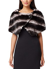 Faux-Fur Capelet, Created for Macy's