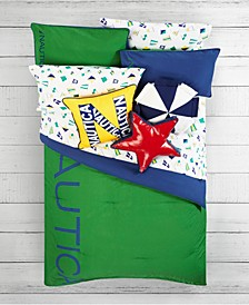 Kids Colorblock Bedding Set