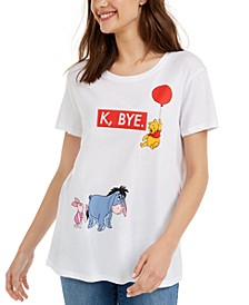 Juniors' Winnie The Pooh Graphic T-Shirt