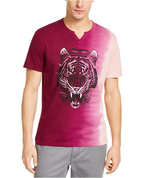 INC International Concepts INC Men's Jennings Tiger T-Shirt, Created For Macy's