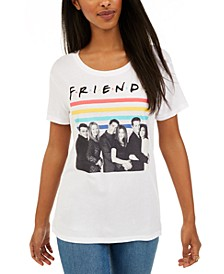 Juniors Friends Rainbow Graphic T-Shirt