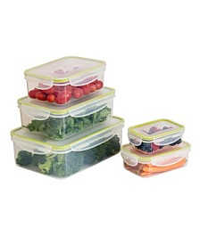 Locking 10-Pc. Food Storage Set