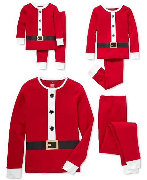 Carter's Matching Santa Family Pajamas Collection