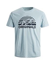 Men's Graphic Logo Crew Neck Short Sleeve T-Shirt
