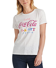 Lucky Brand Coca Cola Tokyo Graphic T-Shirt